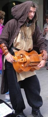 DublinSidewalkMusician