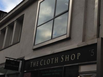 DublinTheClothShopSign